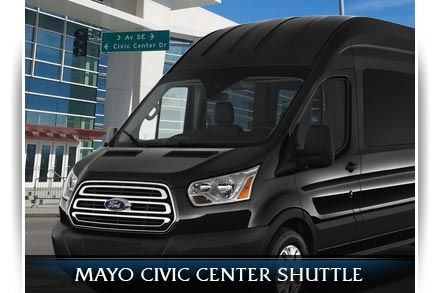 Rochester Mayo Clinic Convention Transportation Shuttle Services